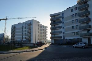 Nowe Centrum Września - budynki C1 i C2 - styczeń 2019