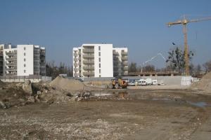Nowe Centrum Września - budynki C1 i C2 - marzec 2019