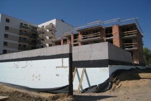 Nowe Centrum Września - budynek C2 - kwiecień 2019