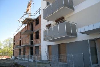 Nowe Centrum Września, nowe mieszkania, budynek C2, kwiecień 2019