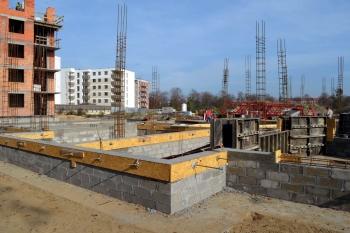 Osiedle Daszyńskiego Tonsil - budynek B1, B2 - październik 2019