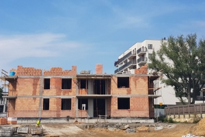 Osiedle Daszyńskiego TONSIL - budynek B1 - sierpień 2019