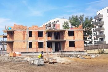 Nowe Centrum Września - budynek B1 - sierpień 2019