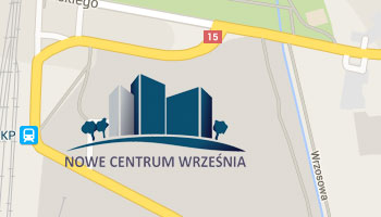 Nowe Centrum Września - mieszkania we Wrześni - lokalizacja