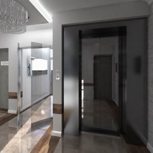 Wizualizacja części wspólnych - Nowe Centrum Września - winda