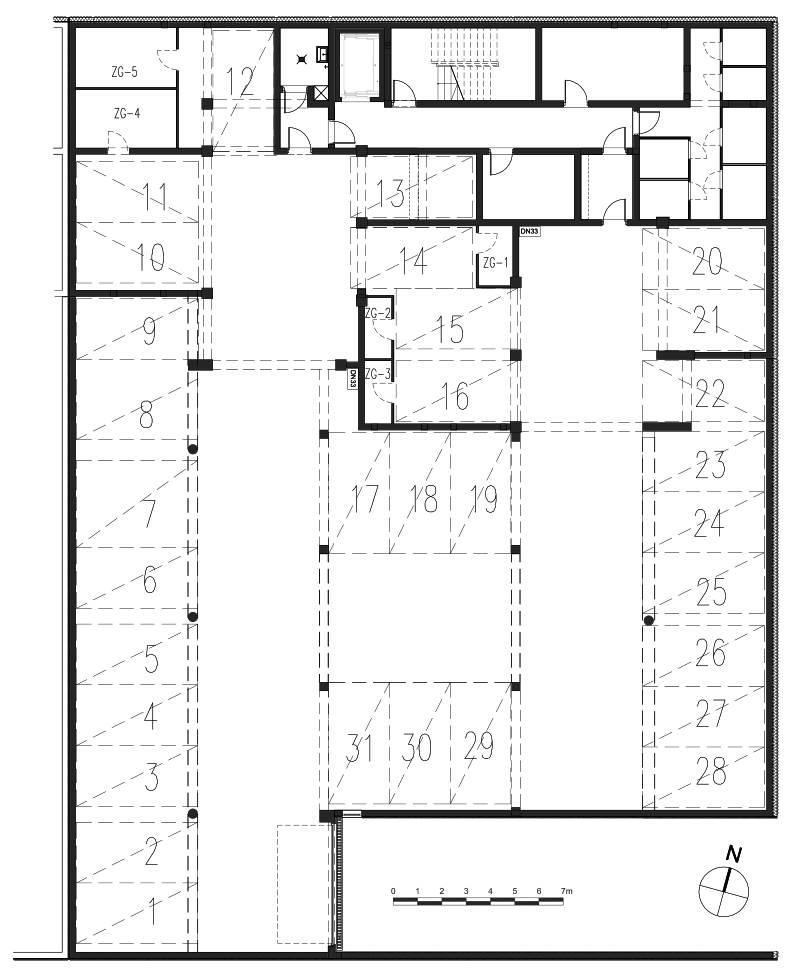 Osiedle mieszkaniowe we Wrześni ul Daszyńskiego - budynek C1, C2 miejsca postojowe